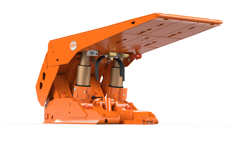 PRS, roof support, longwall system, 100601559, 2016, CGI, KO, display image